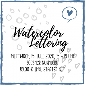 Watercolor Lettering Workshop