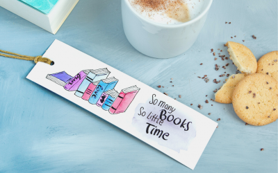 Watercolor Lettering – Geschenkidee Lesezeichen