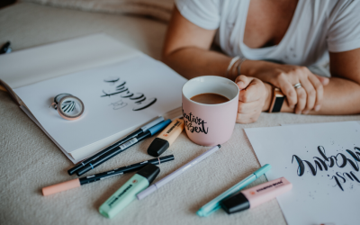 Lettering @ home – Tipps für das Lettern zuhause