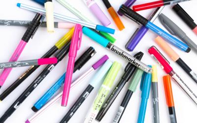 Stifte für Lettering – Stiftarten im Überblick